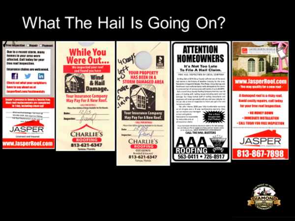 Assignment of Benefits--Roofing Flyer #5